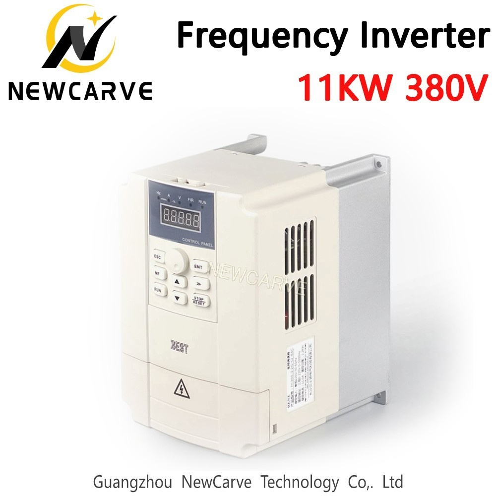 Best 11KW Variable Frequency Inverter 380V For CNC Spindle Engine Control NEWCARVE
