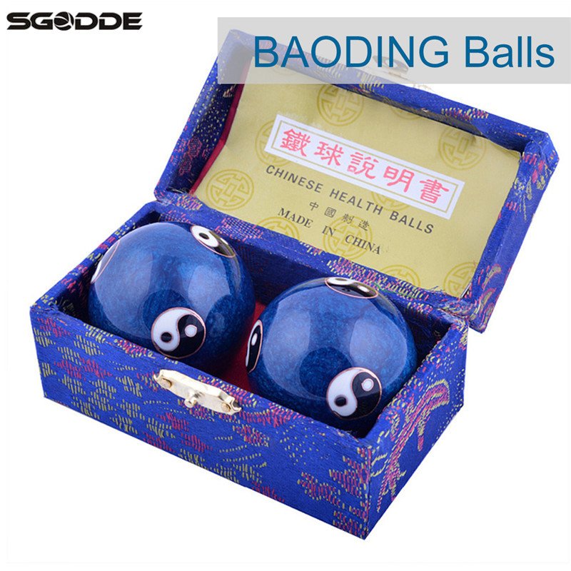 New Chinese Health Blue Baoding Ball Dai