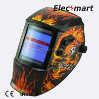El Charro De Las Calaveras Auto Darkening Welding Helmet TIG MIG MMA Electric Welding Mask Helmet