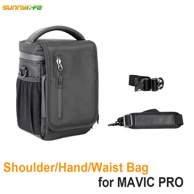Sunnylife DJI Mavic Accessories Single Portable Belt Bag Suitcase Storage Drone Body Remote Controller Handbag for DJI MAVIC PRO carrying case for dji mavic pro accessories abs waterproof weatherproof hard military spec bags for dji mavic pro drone bag