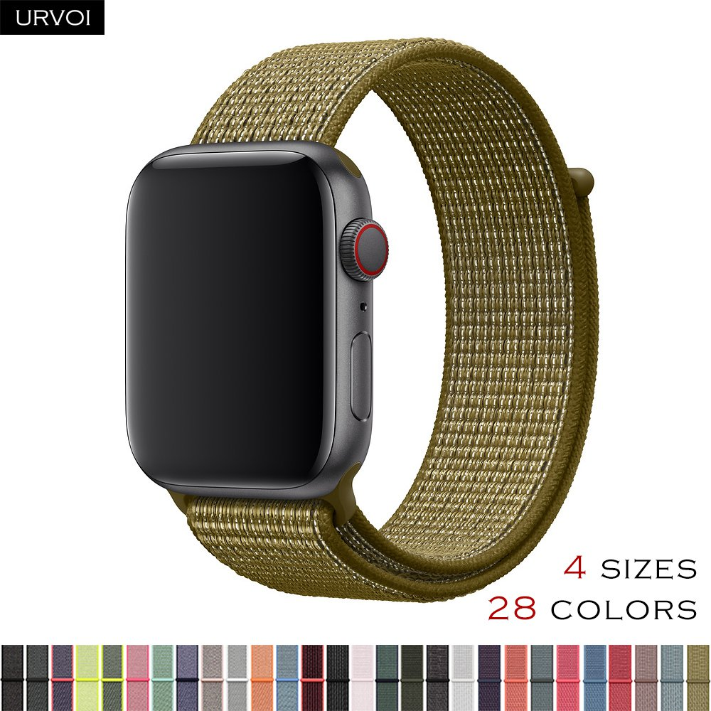 Aliexpress.com : Buy URVOI Sport loop for apple watch band reflective strap for iwatch NIKE+