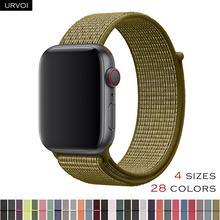 4b86d110 URVOI Спортивная петля для apple watch band светоотражающий ремешок для  iwatch NIKE + дышащий тканый нейлон