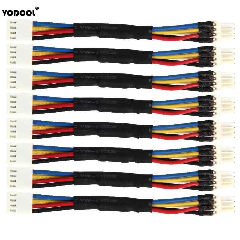 VODOOL 8 teile/los Fan Widerstand Kabel PC Lüfter Geschwindigkeit Reduzieren 4 Pin Power Widerstand Männlichen zu Weiblichen Konverter Kabel adapter