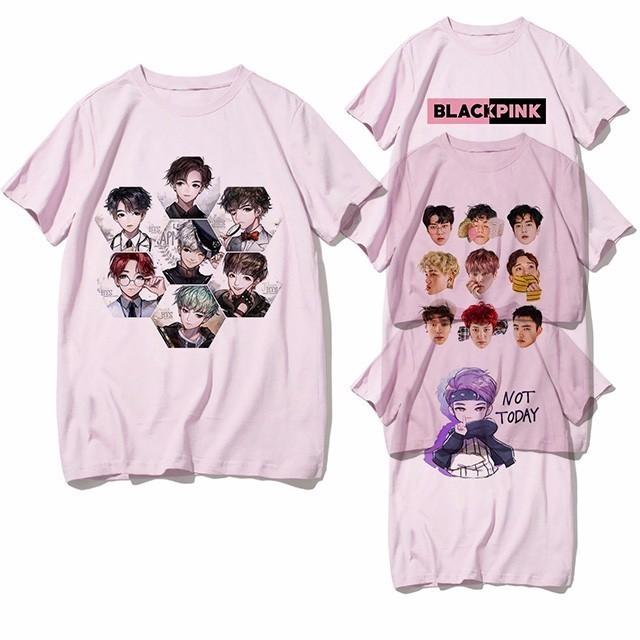 BTS & BLACKPINK T-SHIRT (23 VARIAN)
