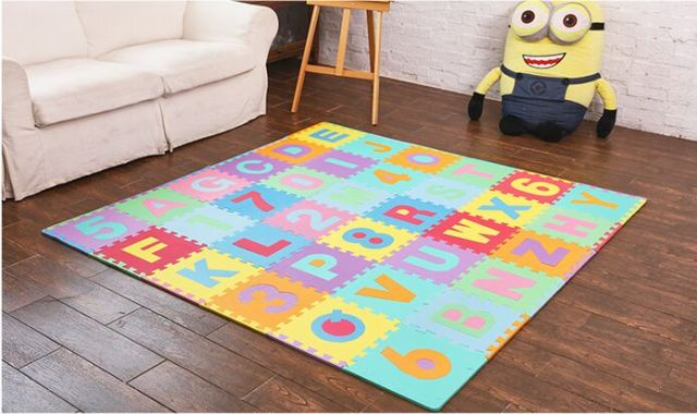 tiles multi itm rainbow mats foam grain wood printed anti floor fatigue interlocking puzzle