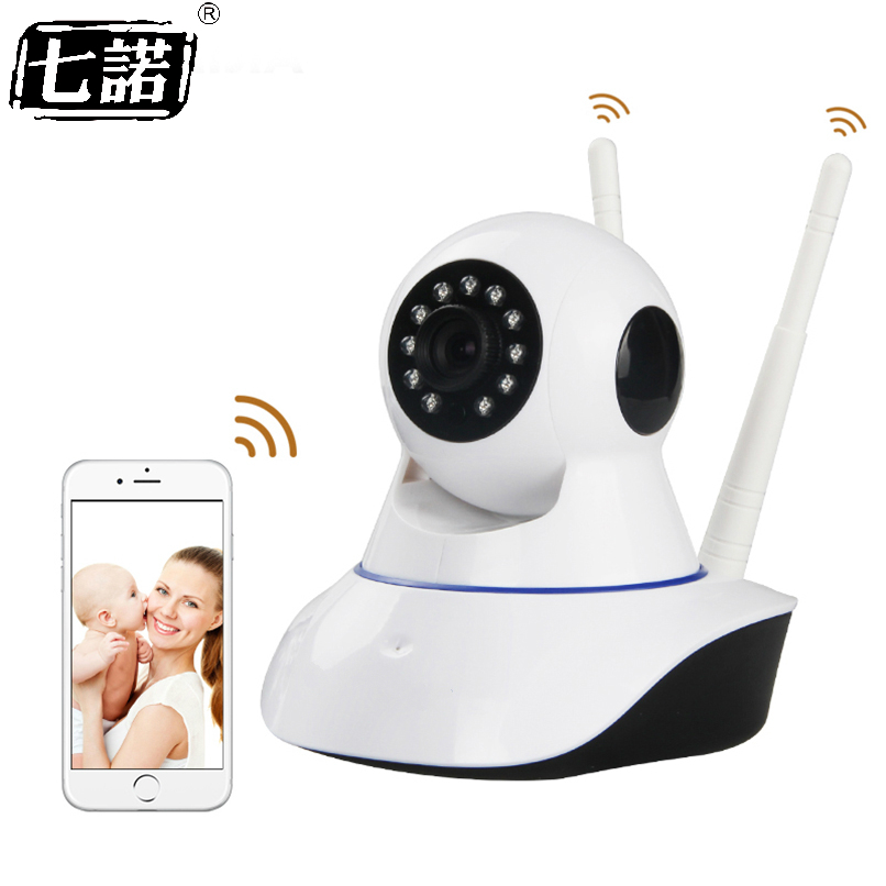 Seven Promise HD 720P Wireless IP Camera Smart CCTV Home Security Camera P2P Network Baby Monitor Home Surveillance Two-wayAudio сумка can promise kn82703 2014