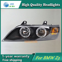 JGD Brand New Styling For BMW Z3 Ram 1500 LED Headlight 1996 2002 Headlight Bi Xenon