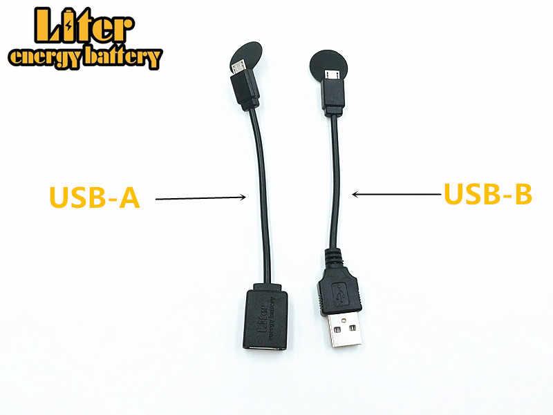 18650 usb 3.7v 3500 のための携帯電話 powerbank 充電器 · バッテリーポータブル充電式バッテリーリチウムイオン 18650 バッテリー