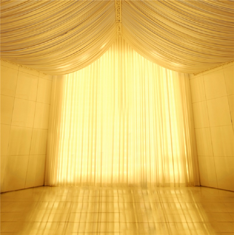 Kate Dreamlike Wedding Backdrop Photo Studio Vinyl Background Curtain Romantic Sunset Princess Gauze Background for Photo Studio