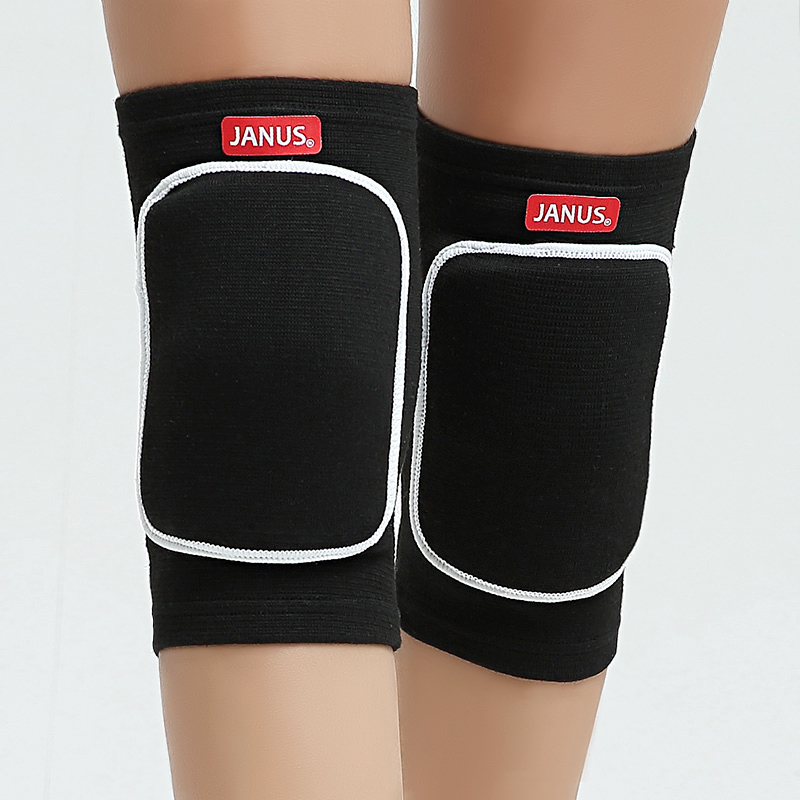 Protective Knee Pads Thick Sponge Anti-Collision Kneepads Protector Non-slip Wrestling Dance Knee Pads Support Sleeve