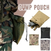 CQC Tactical Airsoft Molle Magazine Dump Bag Hunting Ammo Drop Pouch Military Outdoor Accessories Recovery Mag Bags