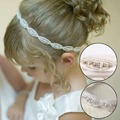 1 Pc Lovely Girls Princess Flower Hairband Kids Children Rhinestone Headband Headwear Elastic Hair Band Accessories