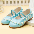 Fashion String Bead Flower Toddler Girls Shoes Elastic Band Girl Party Shoes Beading Baby Princess Shoes Wedding Chaussure Fille