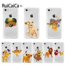 Ruicaica Cartoon Lion king 2019 Colored Drawing phone Case  for Apple iPhone 8 7 6 6S Plus X XS max 5 5S SE XR Cover
