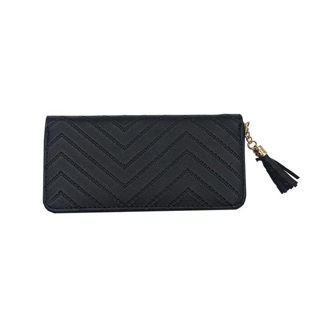 Tassel Designer Long Zipper Wallet