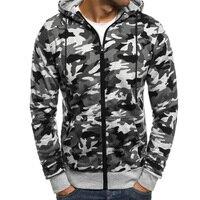 Hoodies Men 2018 Fashion Hoodies Brand Men Personality Zipper Sweatshirt Male Hoody Hip Hop Autumn Winter