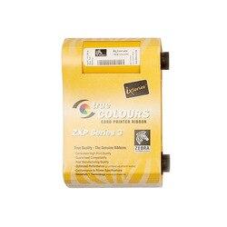 Oryginalny wstążki drukarki 800033-840 wstążka dla Zebra ZXP3 drukarki kart