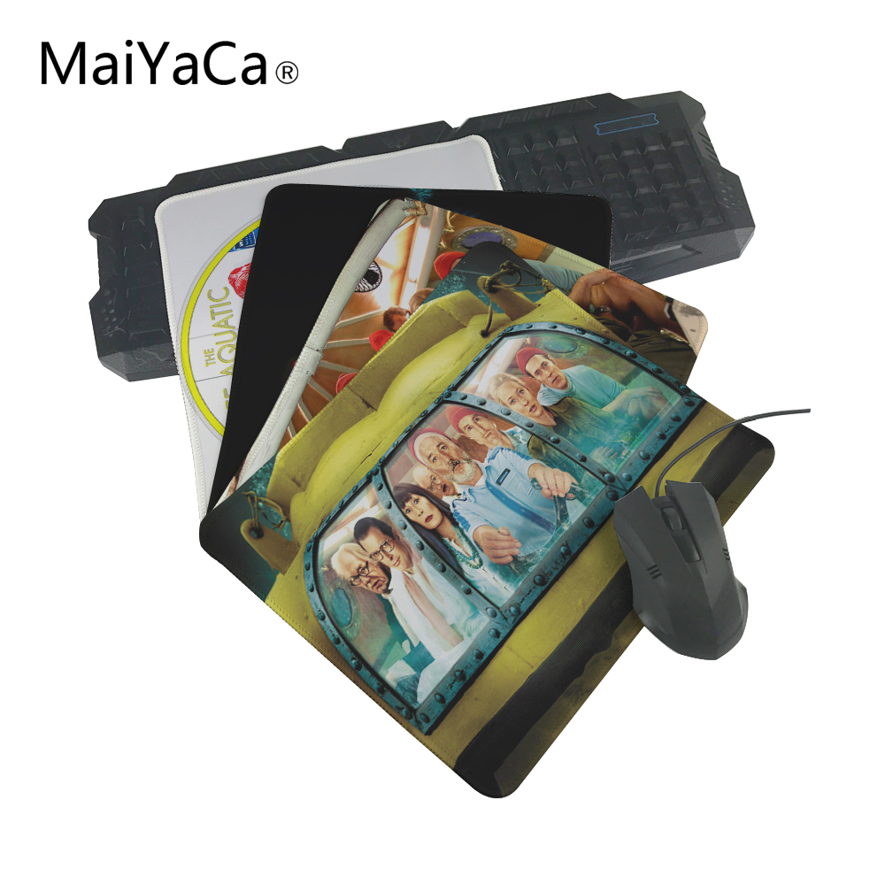 MaiYaCaThe best choice for gifts The life Aquat With Steve Zissou Best Anti-Slip Laptop PC Me Pad Mat OverLock Mouse Pad