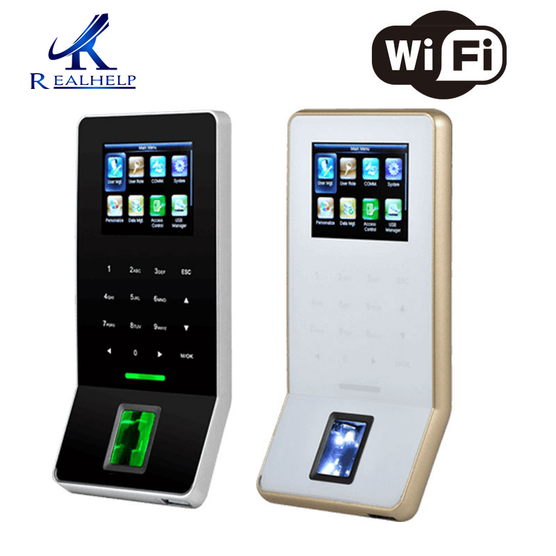 High Quality Biometric Fingerprint Sensor Reader Time Attendance Access Control Terminal With WiFi Module Free Software Zk F22