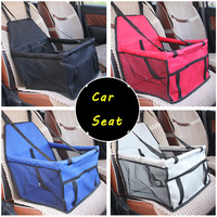 Pet Dog Carrier Pad Safe Carry House Cat Puppy Bag Dog Car Seat Cover Waterproof Dog Seat Bag Basket Pet Products