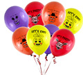 100pcs/lot Five Nights At Freddy's 4 FNAF Party Balloon 4 colors mixed ballons figure toys