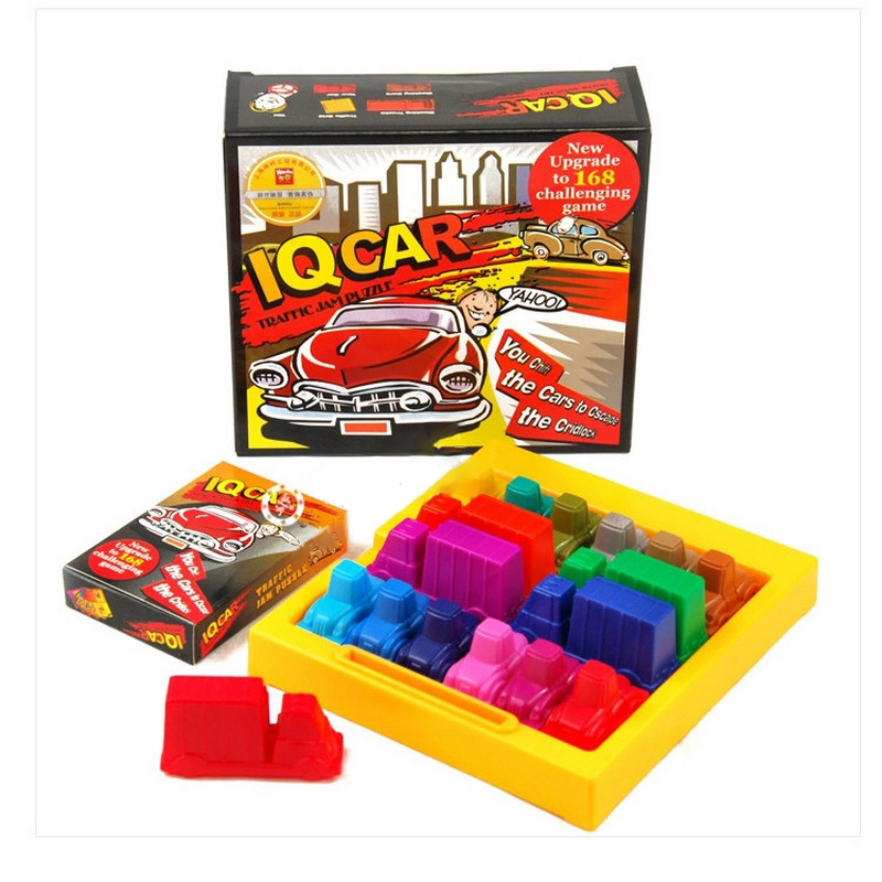 iq car parking game 3d puzzles toys set for kids children geometric puzzle cars challenging educational