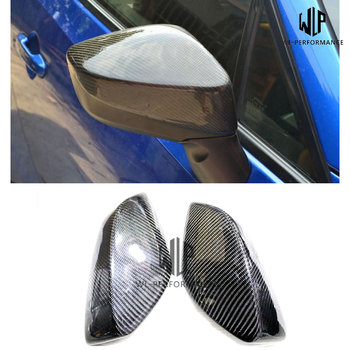 Free Shipping Car Door Carbon fiber RearView Mirror Cover Car Styling For Toyota GT86 Car Body Kit 2012-2018 image