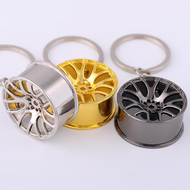 New Design Shiny Rim  Keychain