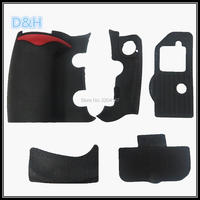 NEW A Set Of Body Rubber 5 Pcs Front Cover And Back Cover Rubber For Nikon