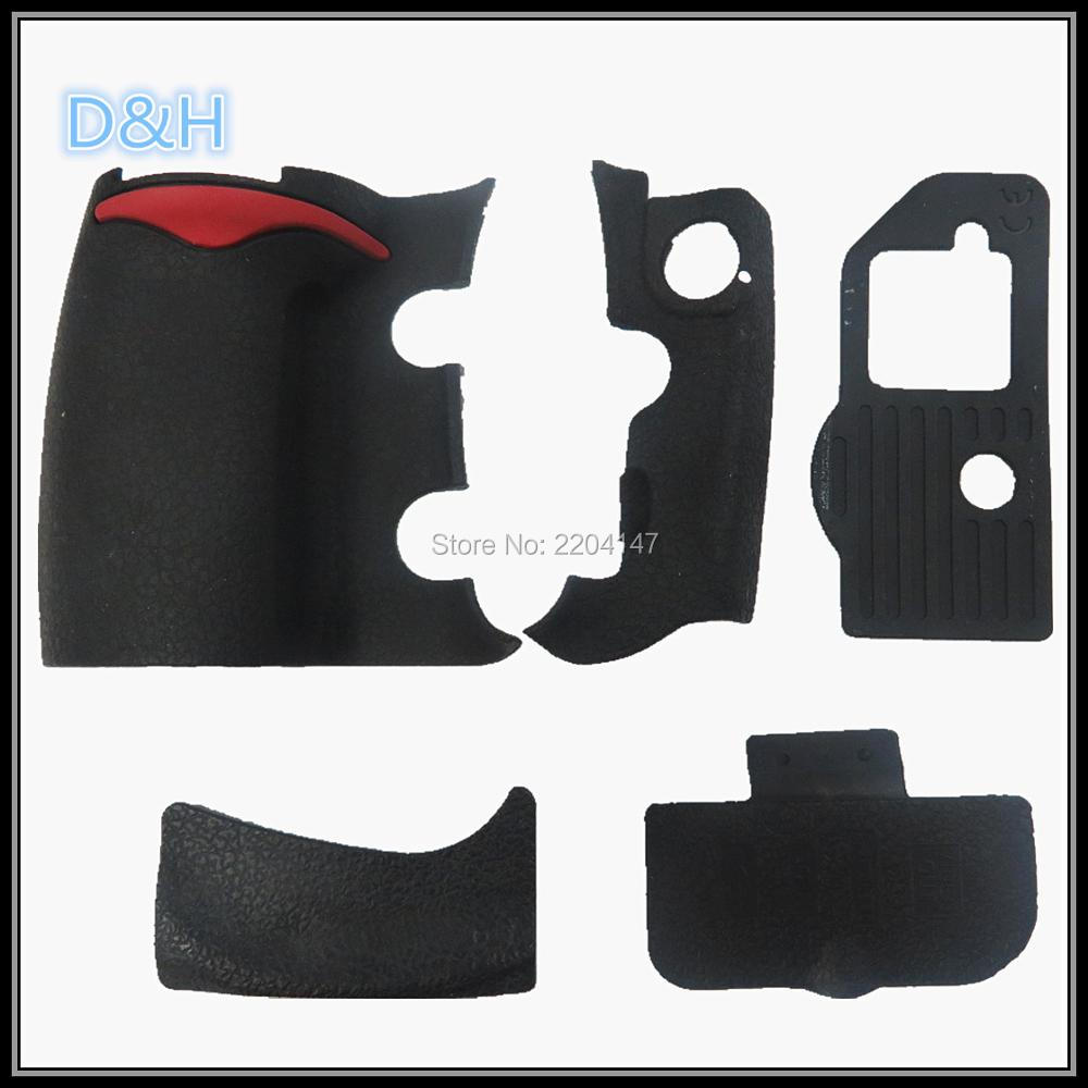 NEW A Set Of Body Rubber 5 pcs Front cover and Back cover Rubber For Nikon D300 D300S Camera Replacement Repair spare parts new original a set of body rubber grip rubber bottom rubber cf rubber for nikon d5 replacement unit repair parts