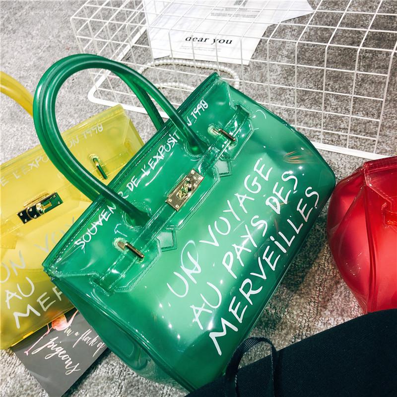 shop Un Voyage au Pays des Merveilles Handbag Jelly Women Crossbody Bag