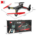 XK X250 - A RC Drone With HD 2.0MP CAM 5.8GHz FPV 2.4G 4 CH 6-axis Gyro Remote Control Quadcopter Professional RC Helicopter Toy