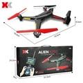 XK X250-Um RC Drone Com HD de 2.0MP CAM 5.8 GHz FPV 2.4G 4 CH Quadcopter 6-axis Gyro Controle Remoto Helicóptero de Brinquedo DO RC Profissional