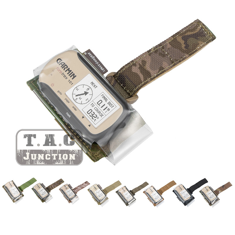 Emerson Tactical GPS Pouch With Metal MP7 Mount For Mini Geko 401 And Garmin Foretrex Series GPS