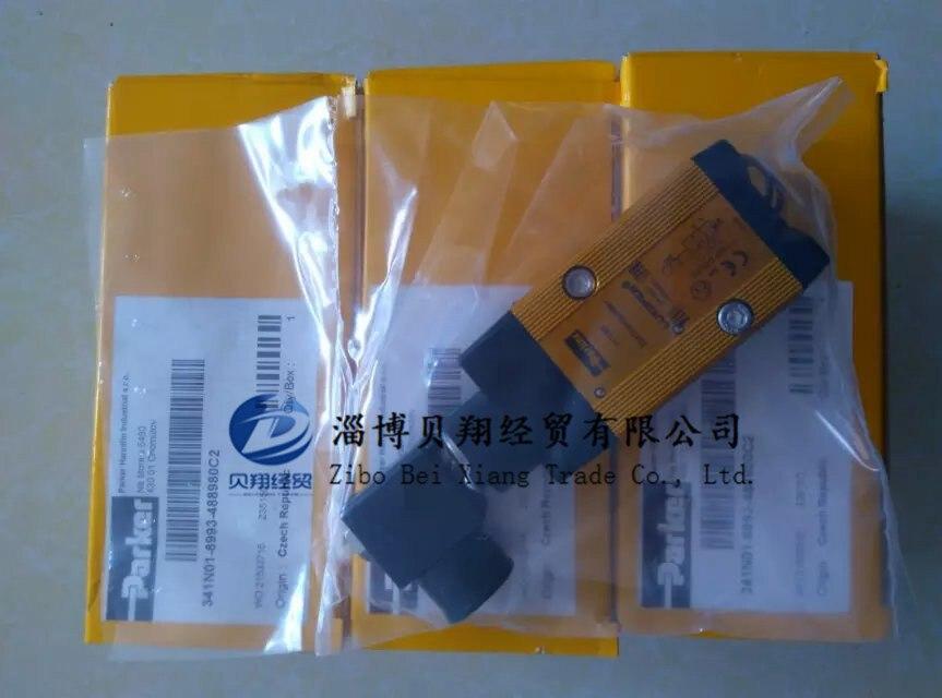341N01-8993-4889803D American Parker solenoid valve LUCIFER solenoid valve phs520d 02 110v d new parker solenoid valve 1 0 9 bar 0 1 0 9mpa