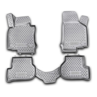 Car Mats 3D salon For VW Golf VI 04/2009 >, 4 PCs (polyurethane)
