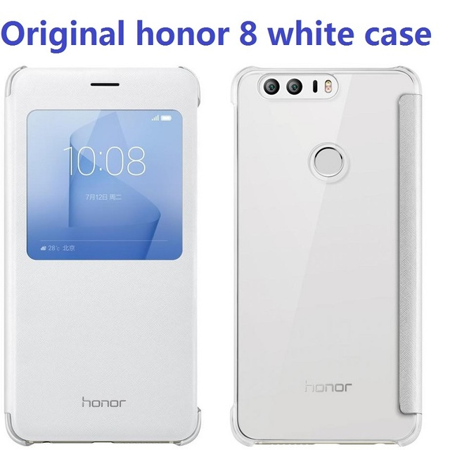 new arrival a5cf3 31e01 US $9.99 |Original Huawei Honor 8 Case Protective Case Funda with View  Window Smart Cover For Huawei Honor 8 lite Flip Cover Leather case-in Flip  ...
