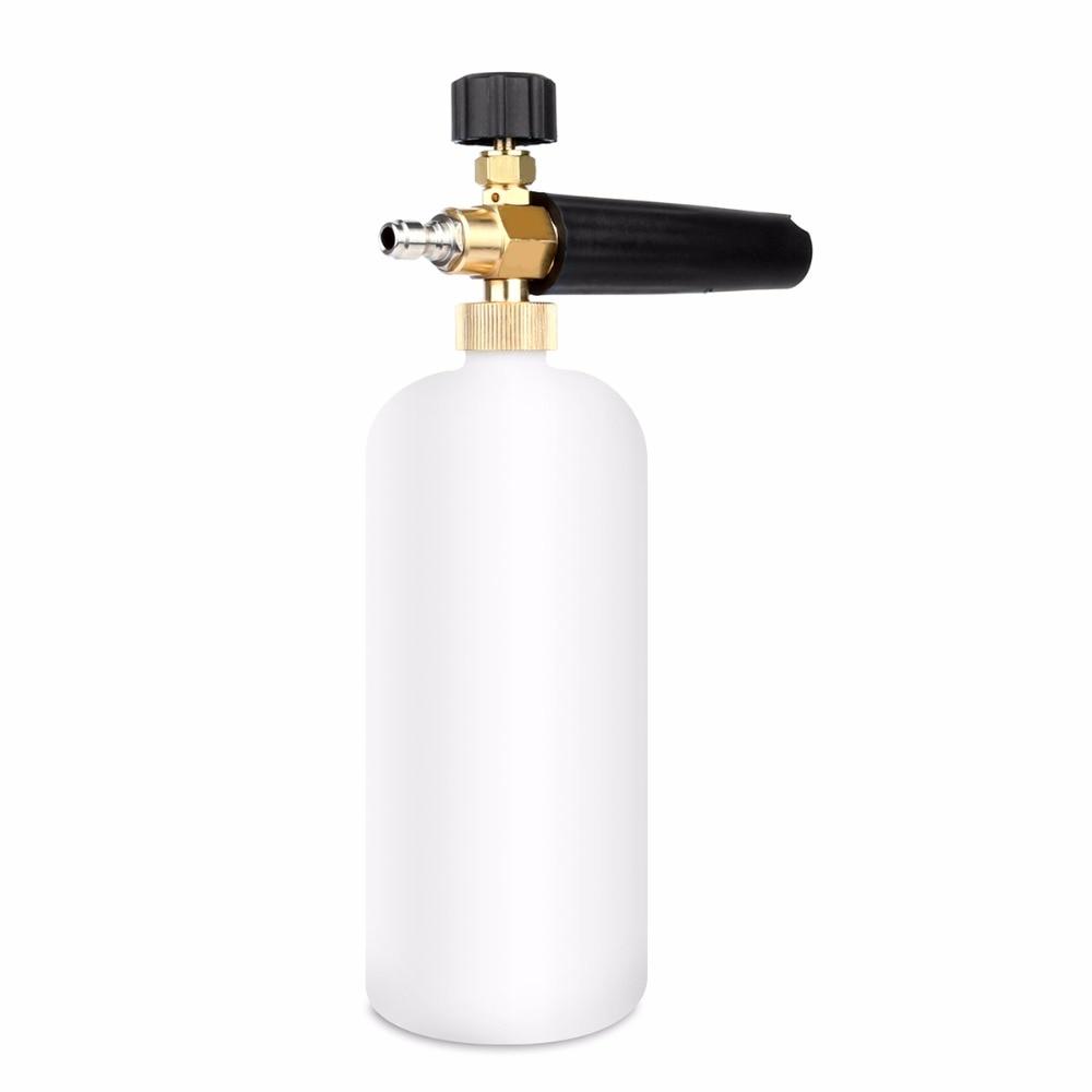 1pc Foam Nozzle Foam Generator Snow Lance Sprayer Foam High Pressure Soap Foamer for Pressure Washer Car Washer