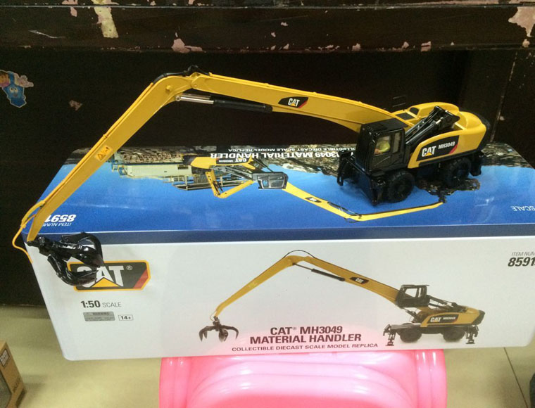 New Packing - Caterpillar Cat MH3049 Material Handler 1/50 DieCast 85919 By DM