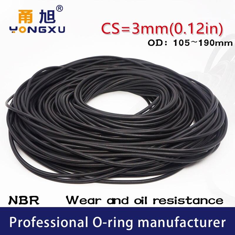 O-Ring Rundring Dichtring 20x2,5-20,00 x2,50 mm FPM  FKM Viton® 200°C 20 Stk