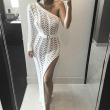 2020 Gebreide Strand Jurk Strand Cover Up Haak Tuniek Strand Pareo Strand Praia Cover Salida De Playa Beachwear Cover Up(China)