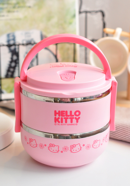 pink japanese cartoon anime stainless steel bento lunch box for girls school metal lunchbox food. Black Bedroom Furniture Sets. Home Design Ideas
