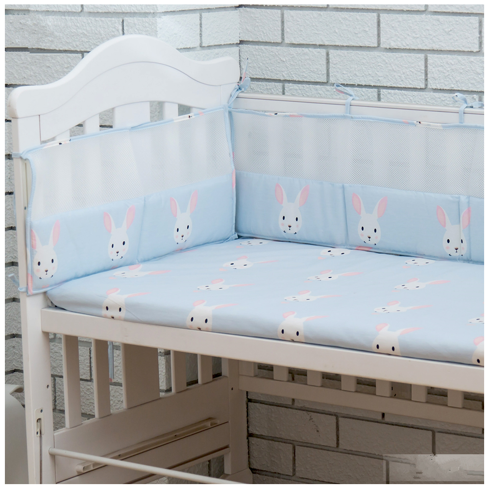 Cartoon Pattern Baby Crib Protect Bumpers DIY 5 Sizes Baby ...