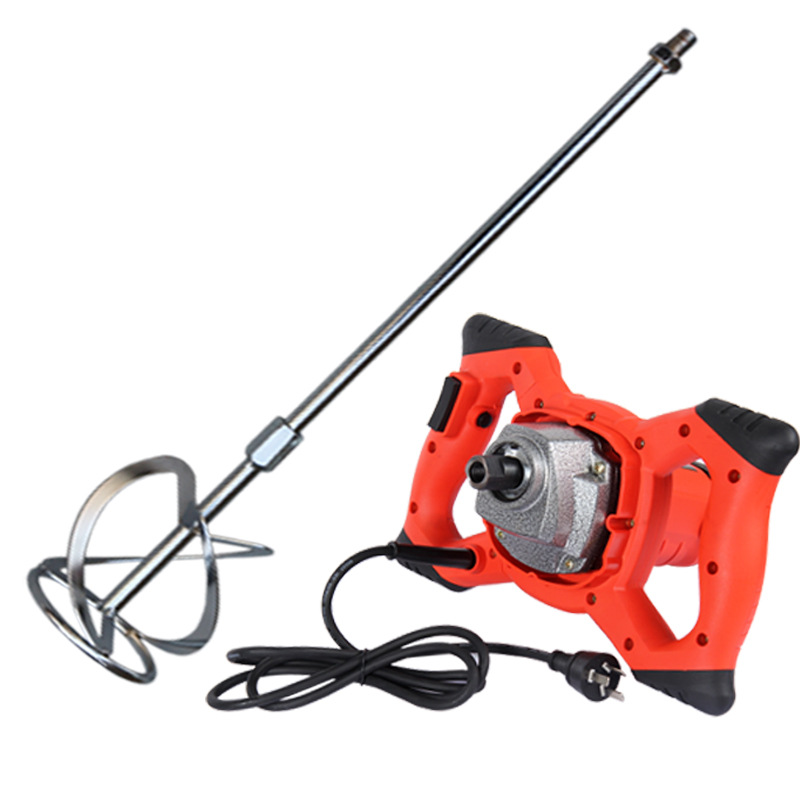 220V Industrial grade electric cement paint putty powder coating mixer  6 speed adjustable 2100W 800RPM electrostatic powder coating machine powder injector pump insert sleeve