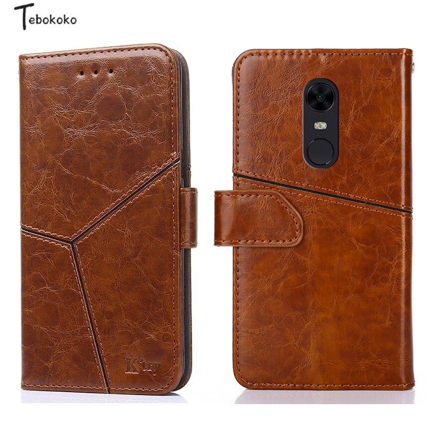 Étui en cuir pour Xiaomi Redmi 5 Plus La Couverture Téléphone Sac entreprise De Haute Qualité Portefeuille Flip Cas pour Xiaomi Redmi 5 cas