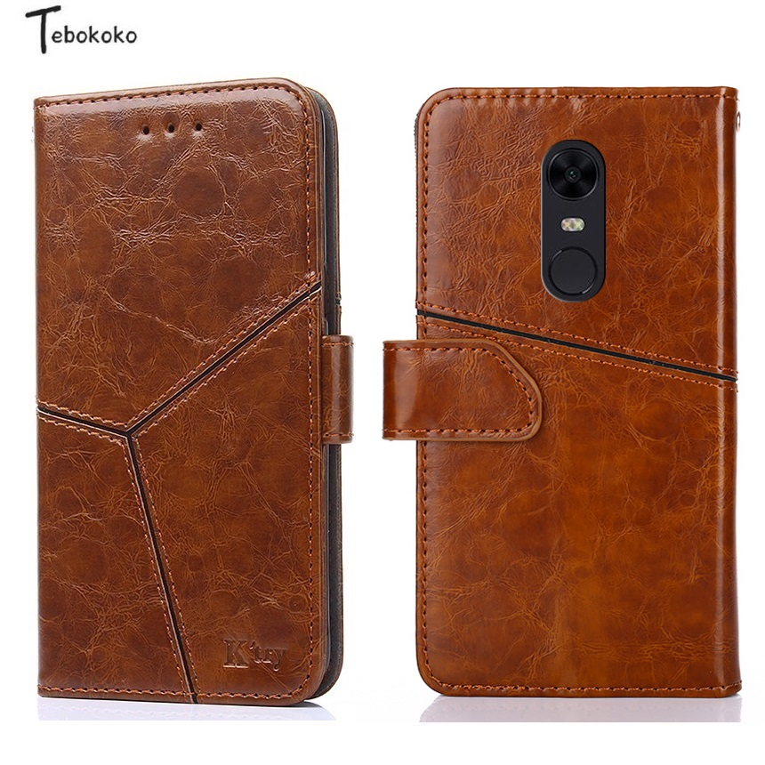 Leather Case for Xiaomi Redmi 5 Plus Cover Phone Bag Business High Quality Wallet Flip Case for Xiaomi Redmi 5 Case