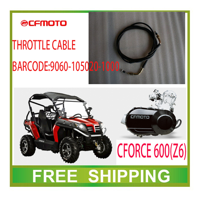 CFMOTO  Z6 CF MOTO THROTTLE CABLE ATV UTV accessories FREE SHIPPING