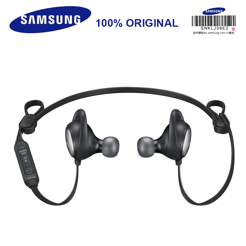 SAMSUNG Level Active Bluetooth Sport Portable Wireless Stereo In-Ear Headset Black / White Noise Cancelling for Sportsman S8