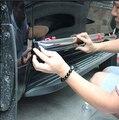 ABS de Color Negro Cuerpo de La Puerta Lateral Moldura Cubre 4 unids Para Toyota Land Cruiser Prado FJ150 2010-2015