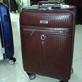 BOLO VALIENTES Hombres de Negocios de alta calidad de LA PU de viaje maleta equipaje conjuntos mujeres y hombres bolsas bolsa de maletas trolley rodando 20 24 pulgadas